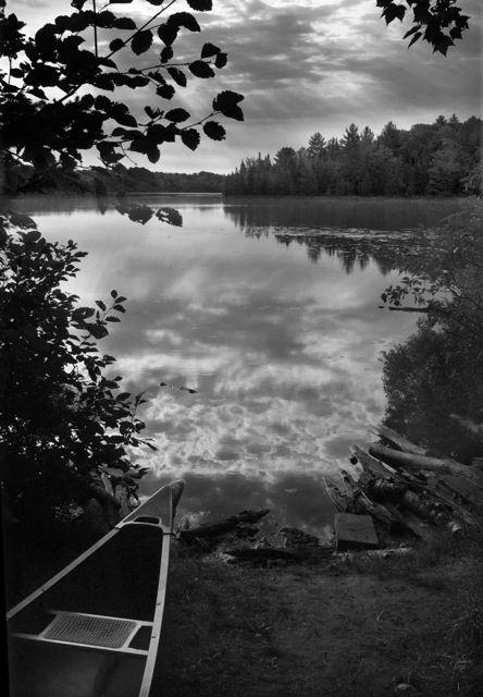 McKeever Lake Canoe , by Ken Halfmann (inspired by Wynn Bullock). All rights reserved.     www.kenhalfmann.com