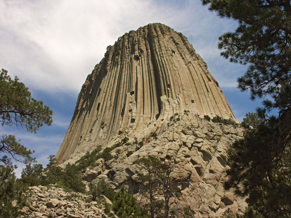 Devil's Tower, by Gordon Olson. All rights reserved.