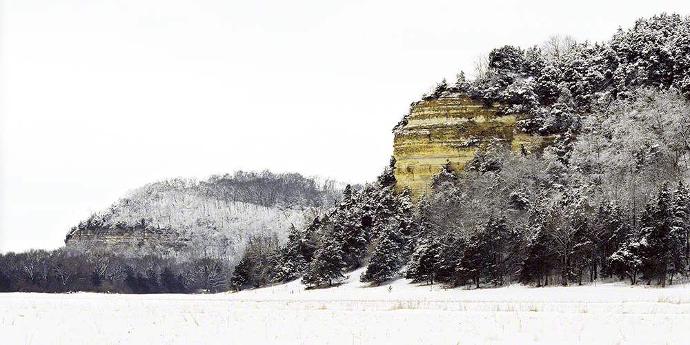 Cassel Bluff Lower Wisconsin Riverway, by Bill Pielsticker. All rights reserved.