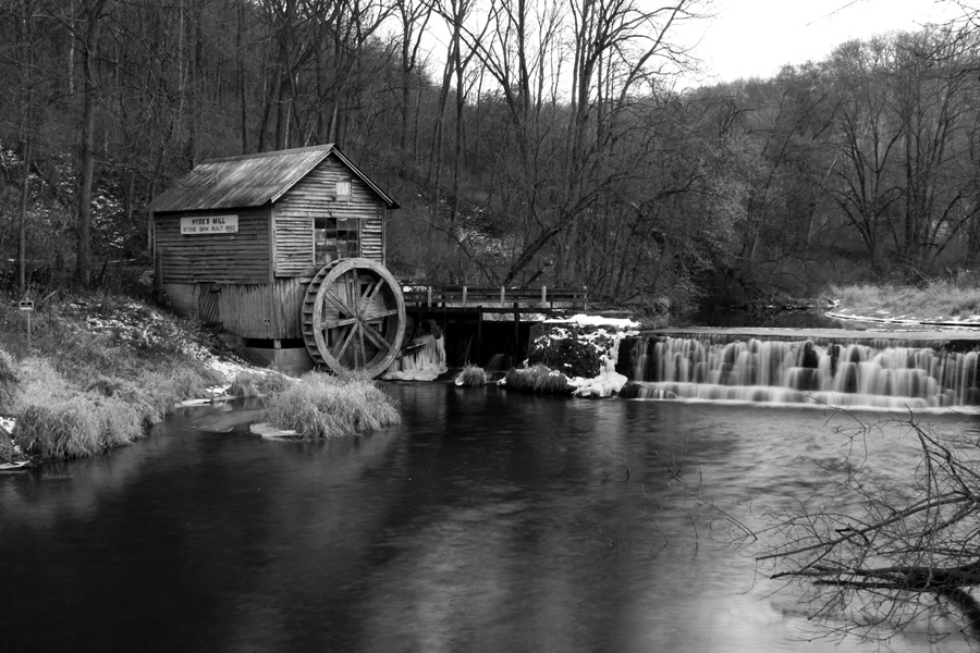Hyde's Mill, by Michael Engelberger. All rights reserved.