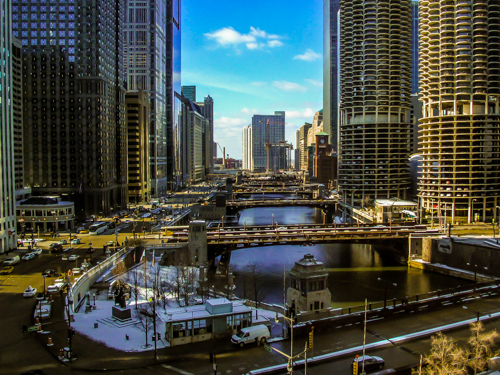 Chicago Bridges, by Don Julie. All rights reserved.