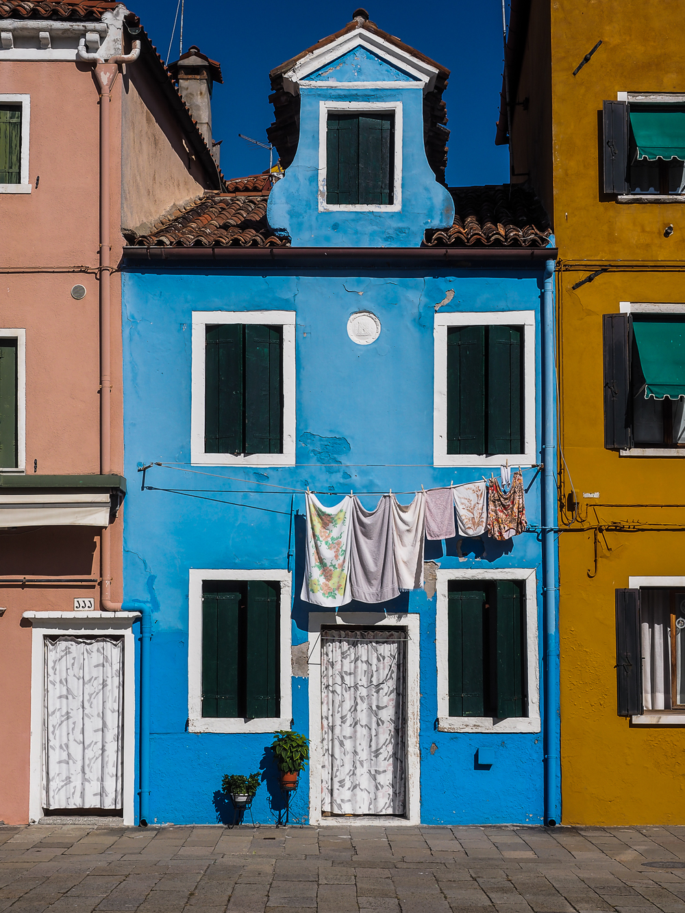 Blue Burano, by Lewis Cadkin. All rights reserved.