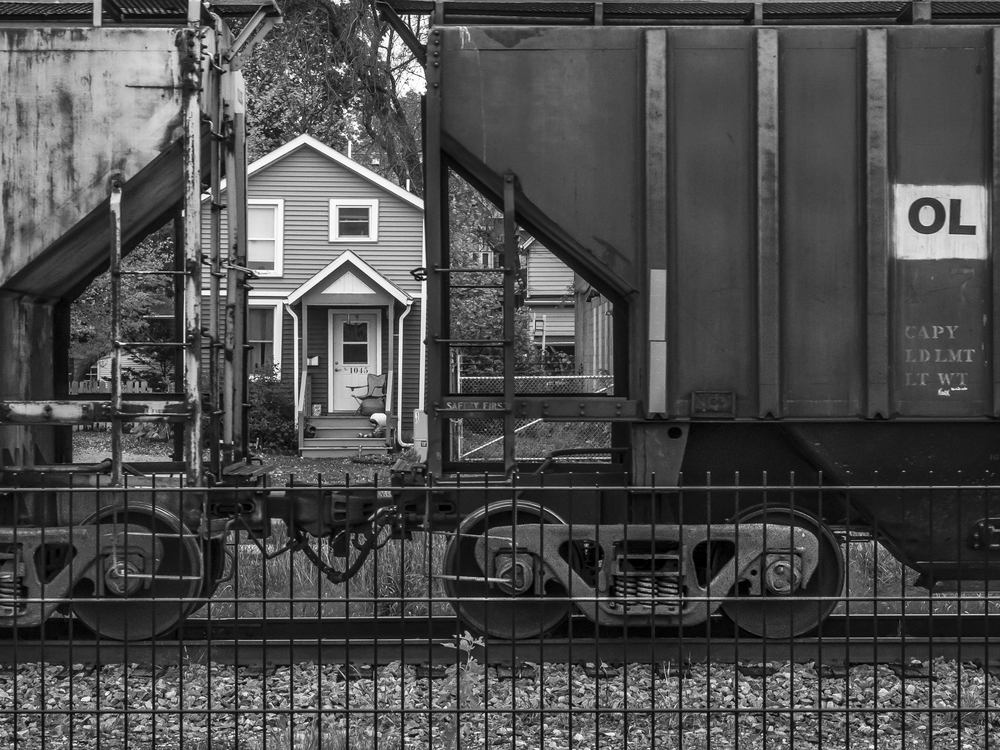 The Other Side of the Tracks, by Marcia Getto. All rights reserved.
