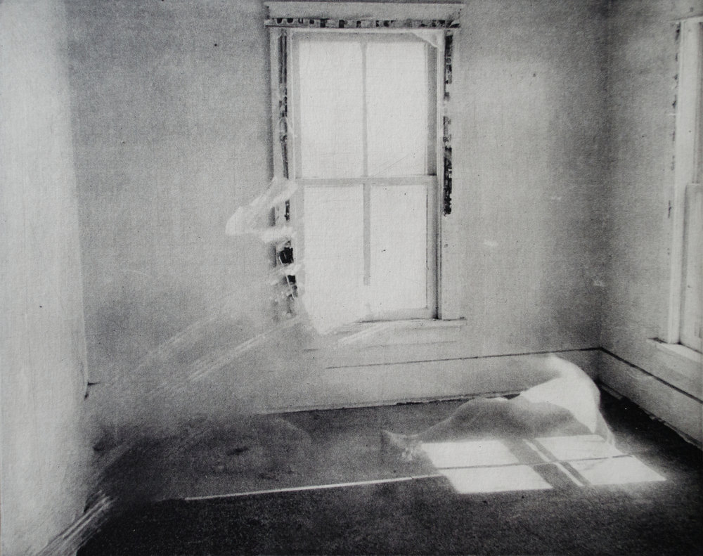 Window Cloak    Photopolymer Intaglio  ©  grace sippy  2009–2016