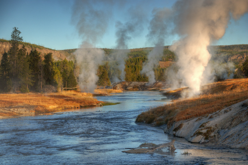Firehole River, by James Moravec. All rights reserved.