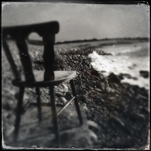 Chair by the Sea, by Patricia Delker. All rights reserved.