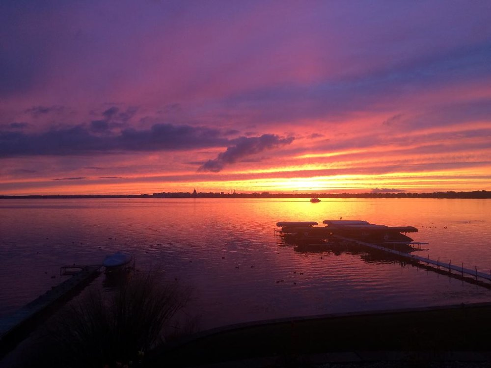 Lake Monona, by Peggy Wireman. All rights reserved.