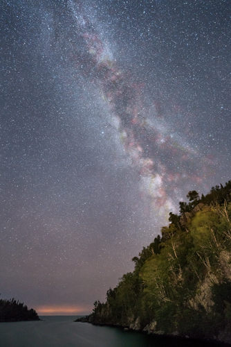Passage Island Night Sky, by Diane Ramthun. All rights reserved.