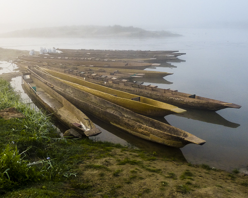Canoes in the Mist Nepal, by Chris Julson. All right reserved.