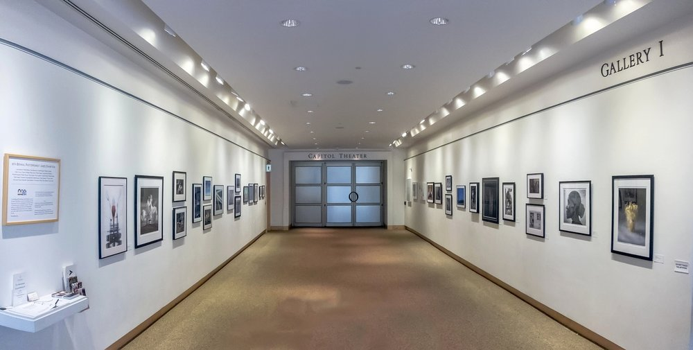 10th Biennial PhotoMidwest 2018 Juried Exhibition, Gallery I, Overture Center for the Arts. By Mike R. Anderson, all rights reserved.