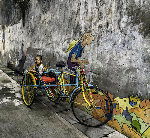 35th Street Yangon by Edie Swift. All rights reserved.