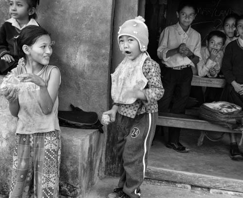 Children, Rural Nepal by Robin Downs. All rights reserved.
