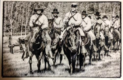 Civil War Reenactment, Battle of Chickamauga by Don Julie. All rights reserved.