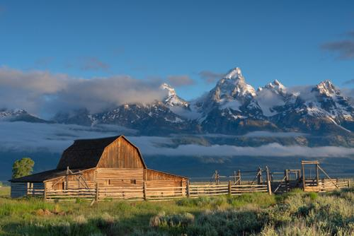 Teton Sunrise by Taylor Smith. All rights reserved.