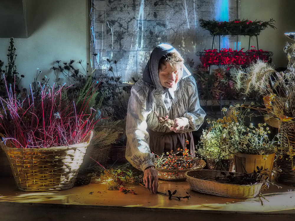 The Flower Lady by Jean Marie Beaber. All rights reserved.