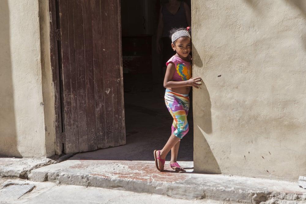 Tie dye girl, Havana Vieja