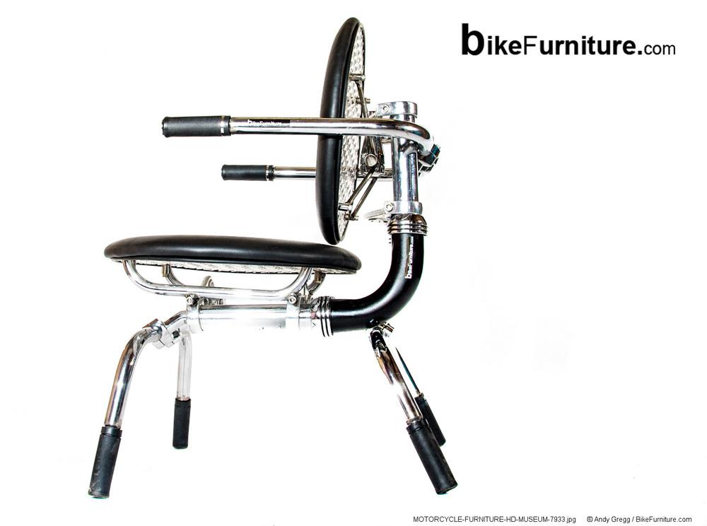 Motorcycle Chair 14 Bike Furniture Design