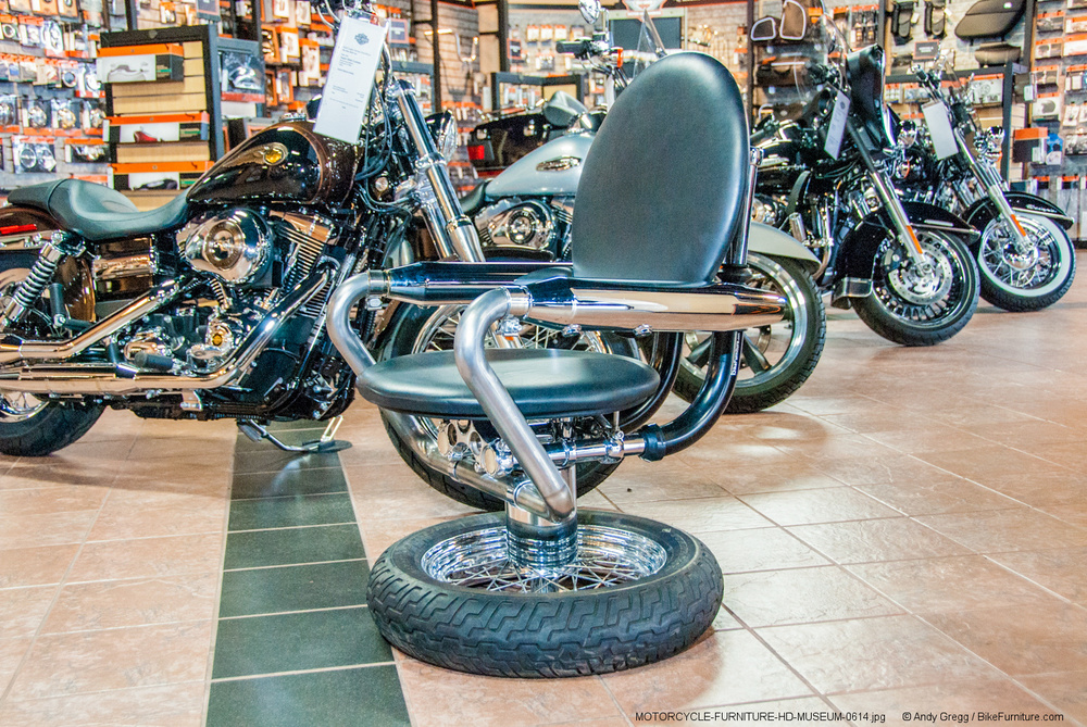 Awesome Motorcycle Furniture