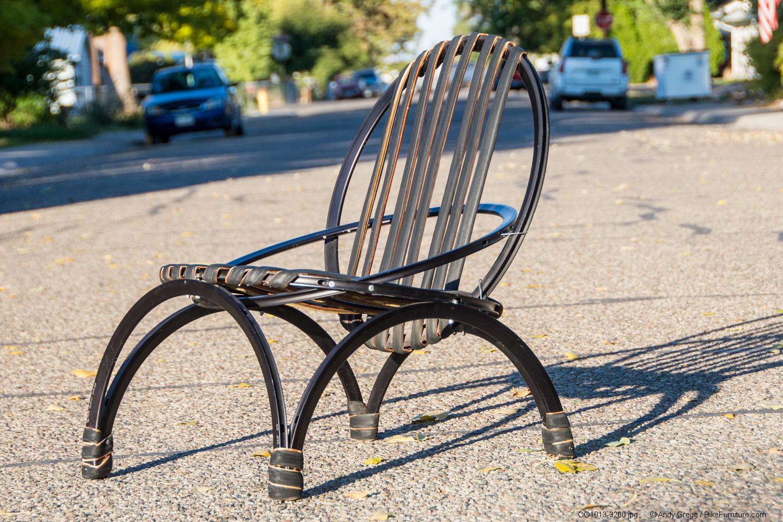 Bicycle Furniture Bike Furniture Custom Works Prototypes Early Works Bike