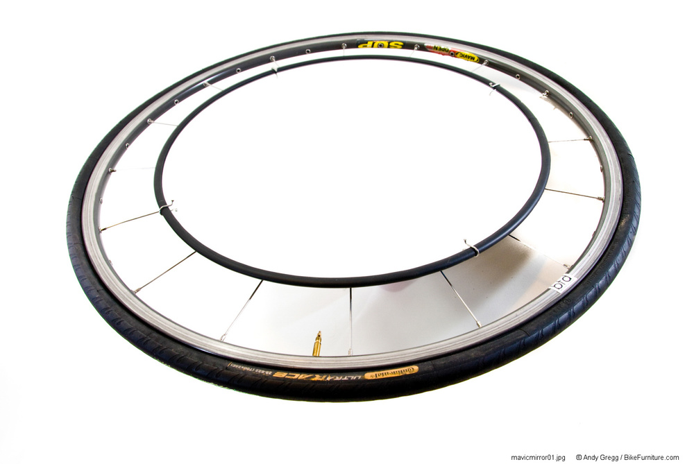 Road Wheel Mirror