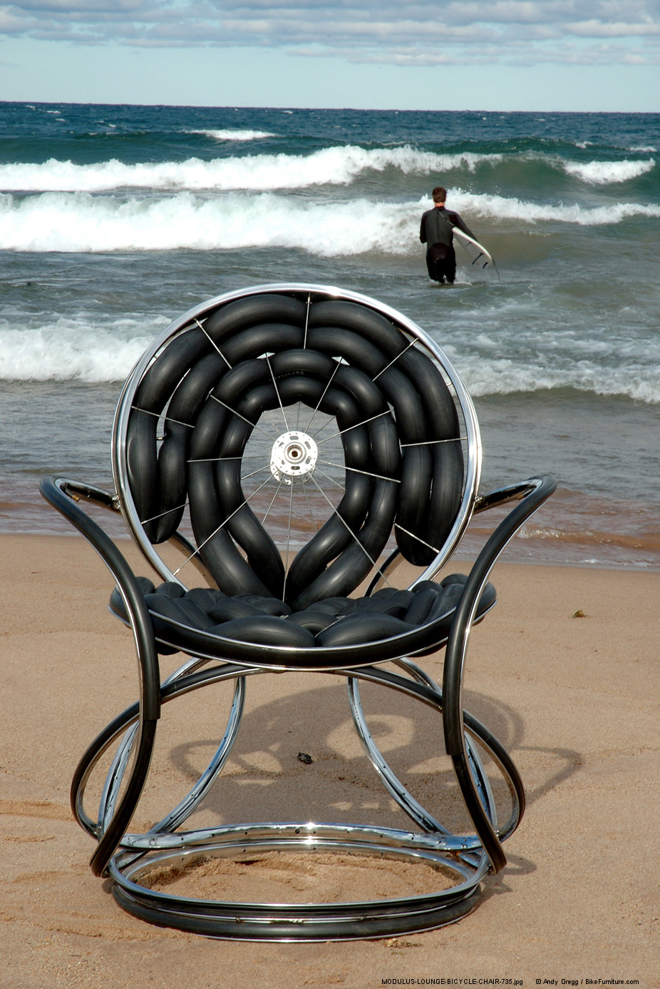 """I don't think it will be possible to make this version of the Modulus Chair with an 18"""" seat height and with inner-tube upholstery in this configuration."""