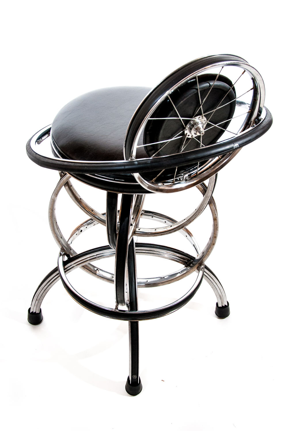 S-2 Barstool with back. Non-swivel