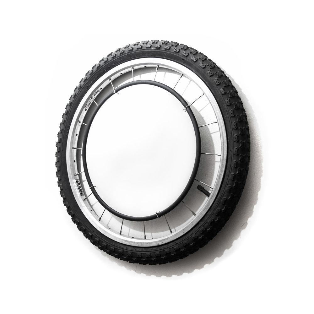 Mirror - BMX wheel