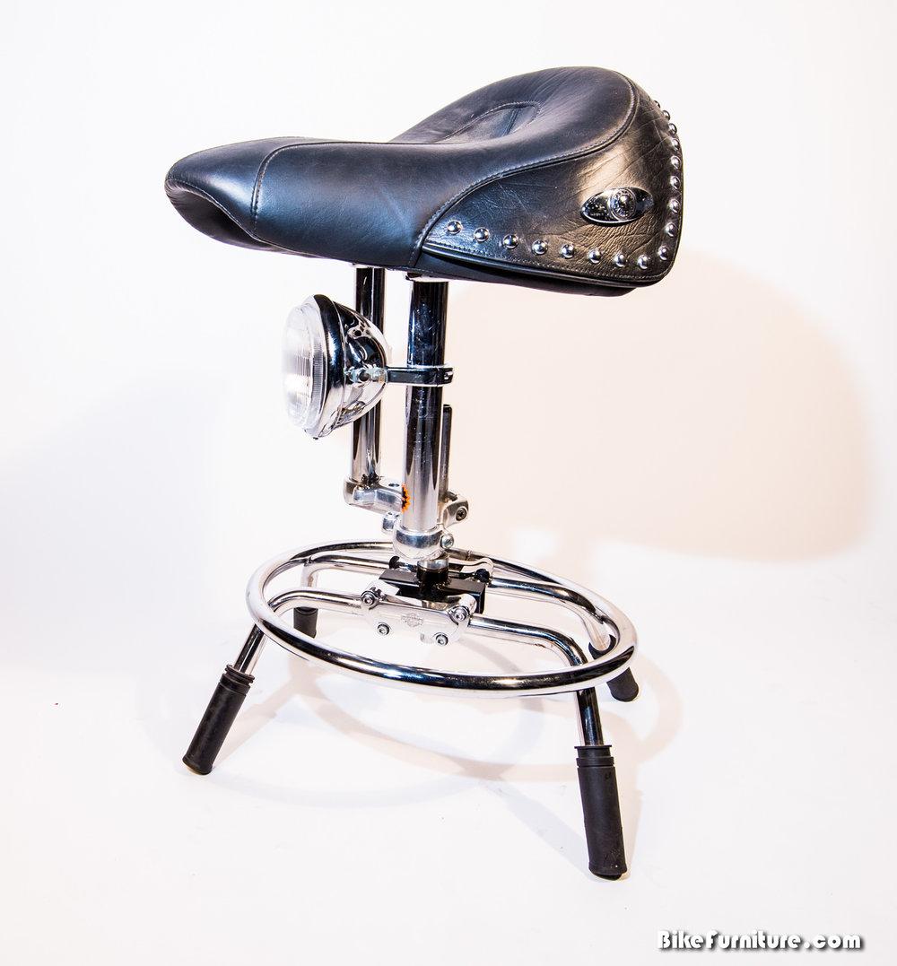Moto stool saddle 2a - prototype