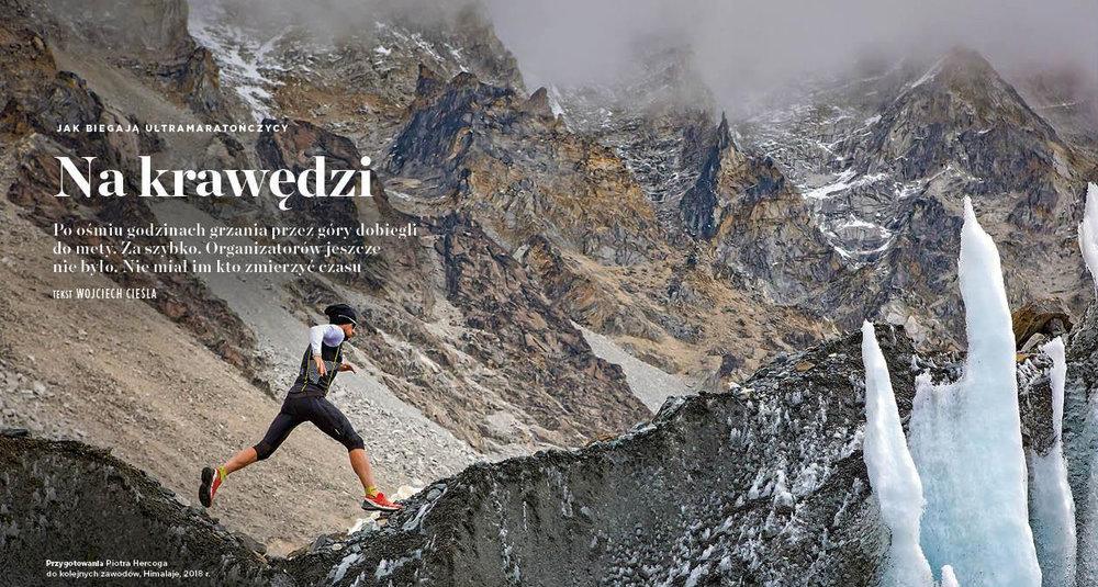 Interview with Piotr Hercog by Wojciech Cieśla. Newsweek Polska, the 31st of January 2019