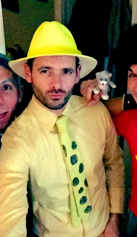 some of you may remember that I was the Man in the Yellow Hat for Hallowe'en last year