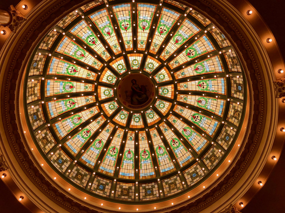 The amazing dome at ISU's Normal Hall