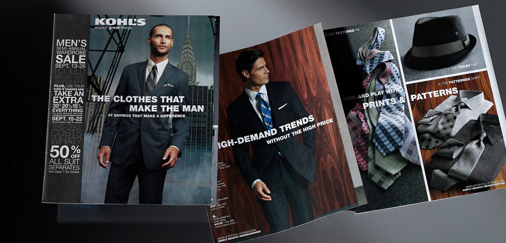 MEN'S CATALOG GATEFOLD