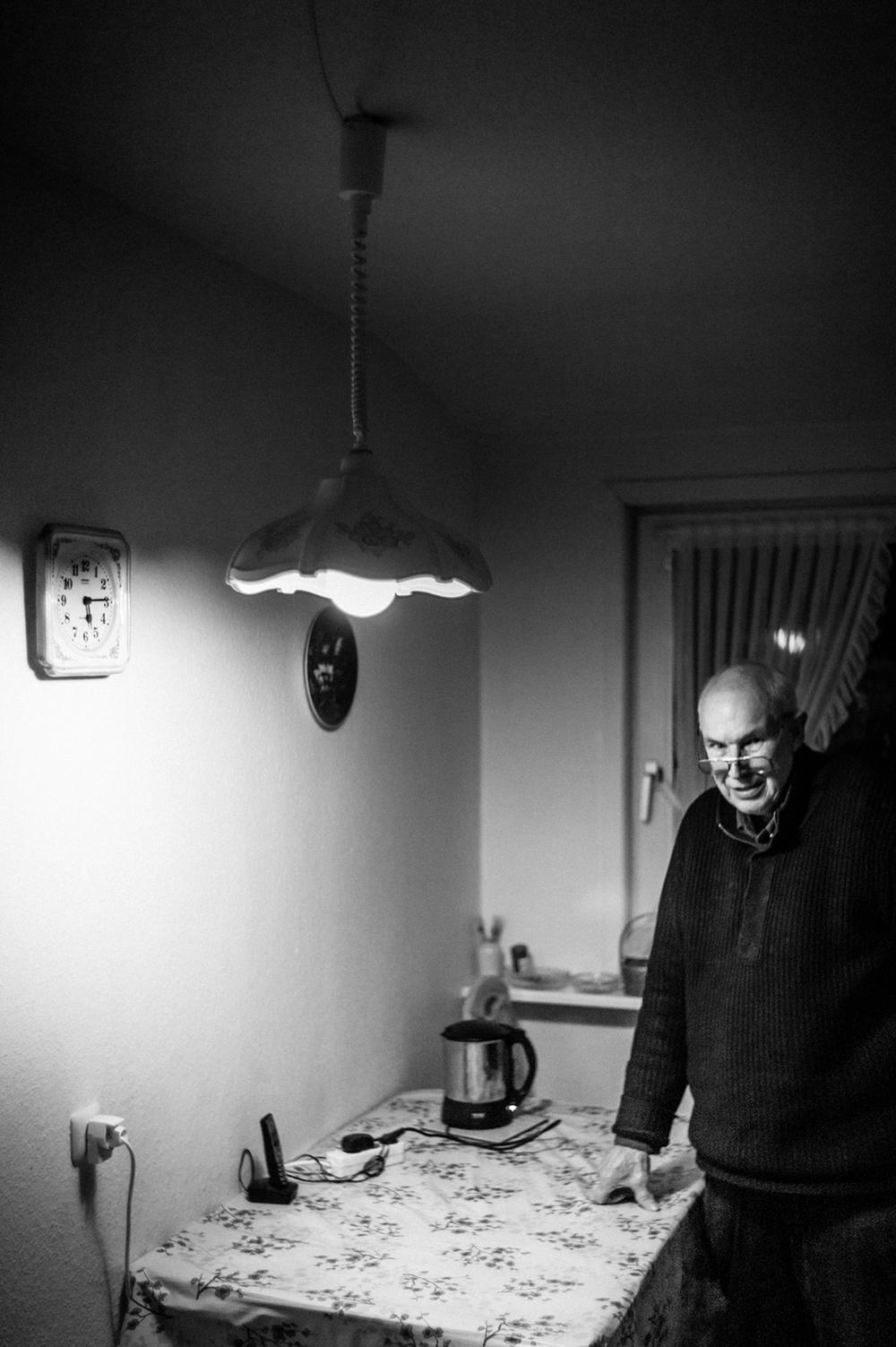 Günter Falke  pensioner & collector