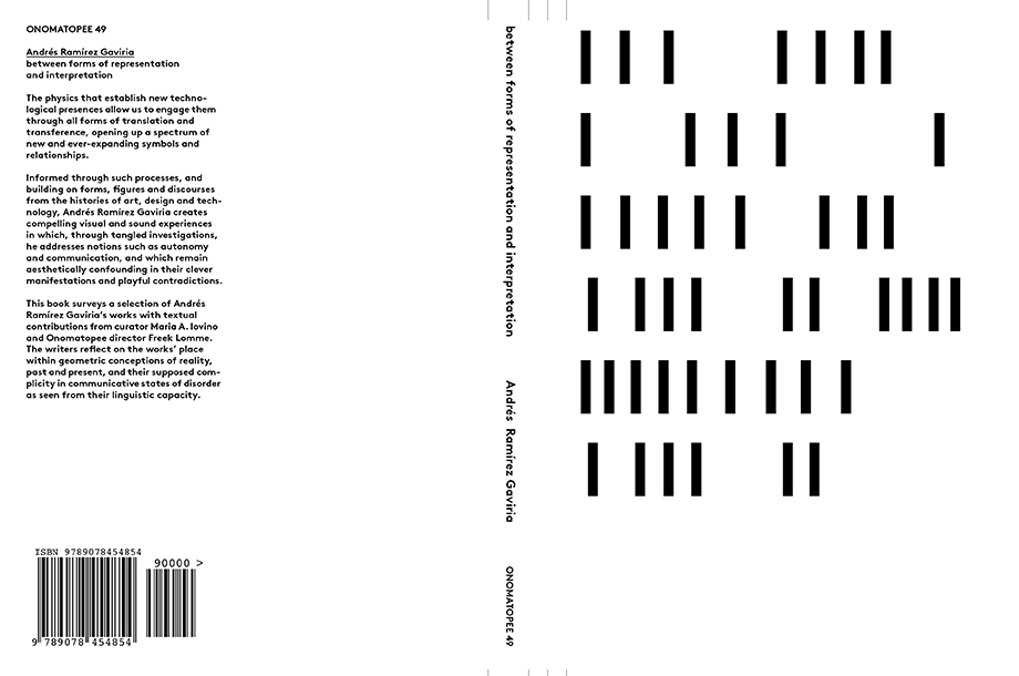 Between Forms of Representation and Interpretation, 2012, published by Ram Publications