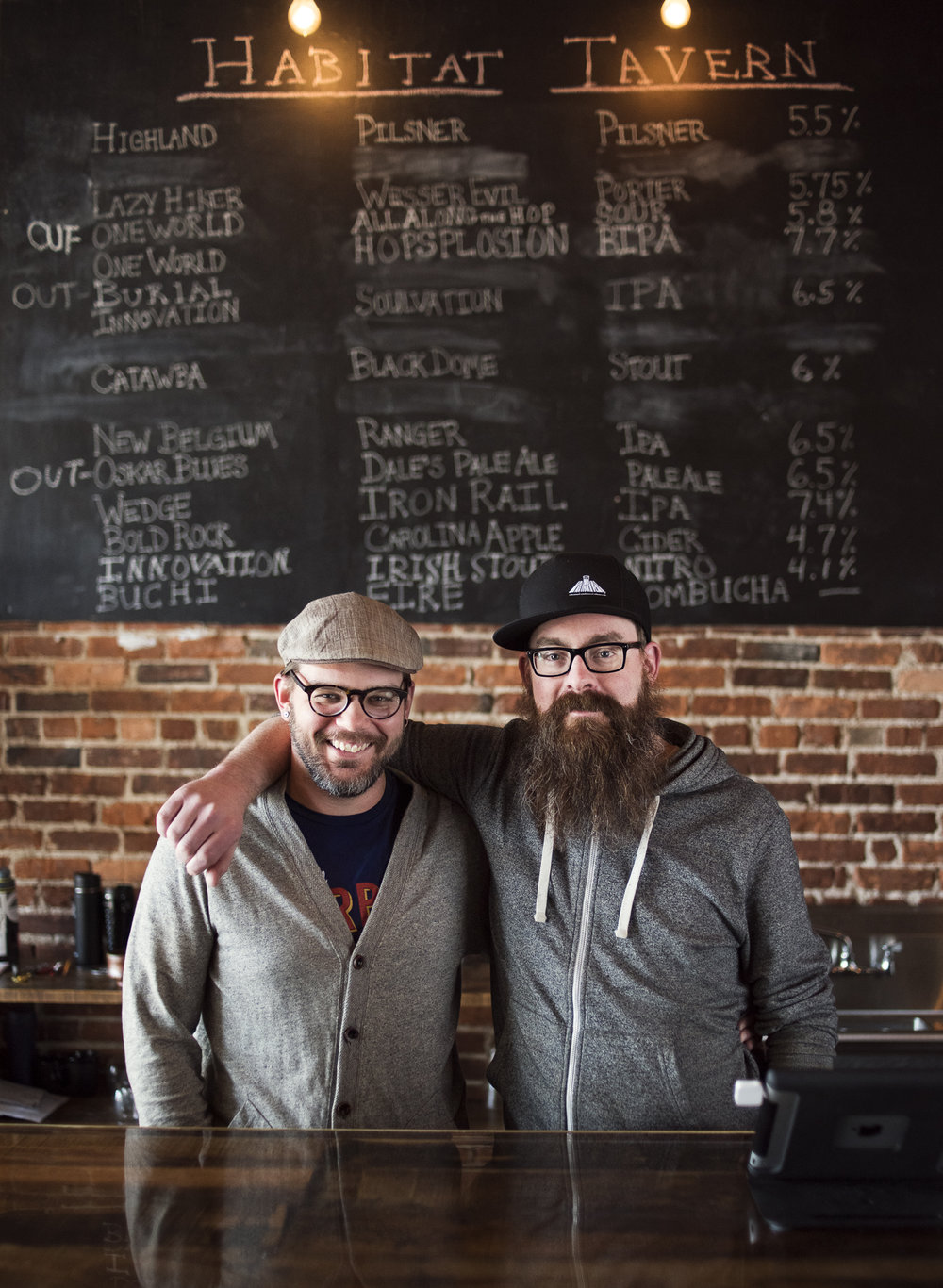 Co-Owners Jonathan Meyers (left) and Matt Addis (right)