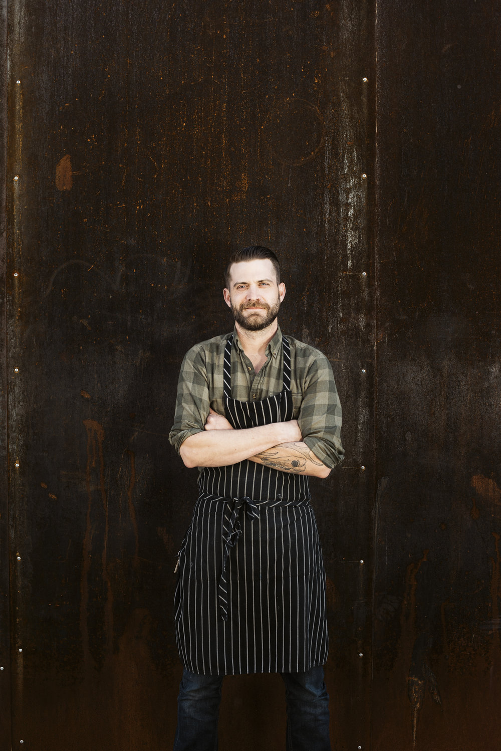 Chef Josiah Mcgaughey of Salt & Smoke for Beer Advocate