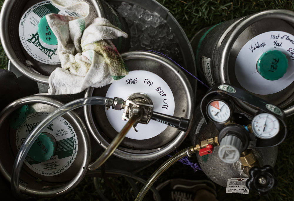Pisgah Brewing Kegs at Beer City Fest 2017 in Asheville North Carolina by Jack Sorokin Photography