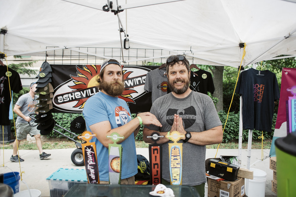 Asheville Brewing Co at Beer City Fest 2017 in Asheville North Carolina by Jack Sorokin Photography