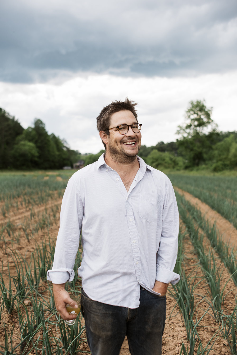 Aaron Grier, Co-Owner of Gaining Ground Farm