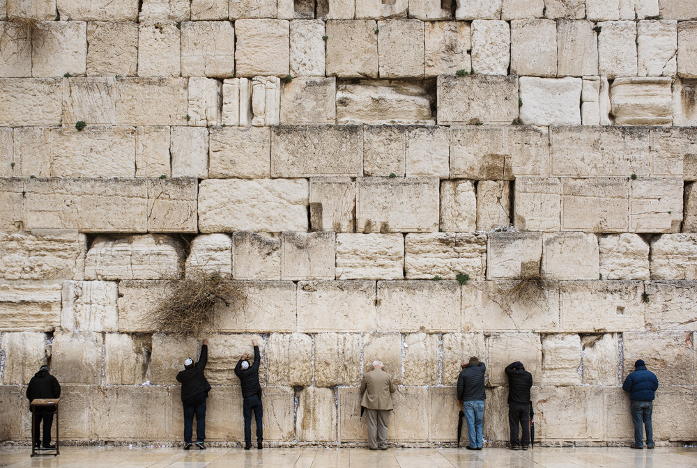 israel jack sorokin middle east photography fine art travel jewish judaism praying wester wall men backs