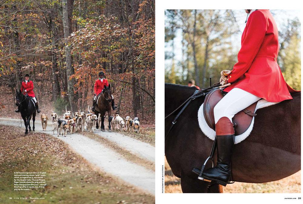 Our State September Tryon Horses Equestrian Magazine Jack Sorokin Photographer Photography Western North Carolina Asheville