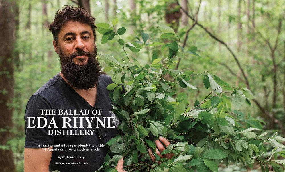 The Local Palate Magazine Asheville Jack Sorokin Flame Photography Commercial Editorial Eda Rhyne Distillery