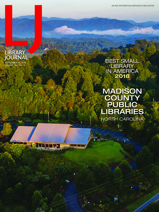 Jack Sorokin Photography Library Journal Madison County North Carolina September Issue Volume 143 No 15 Best Small Library In America 2018