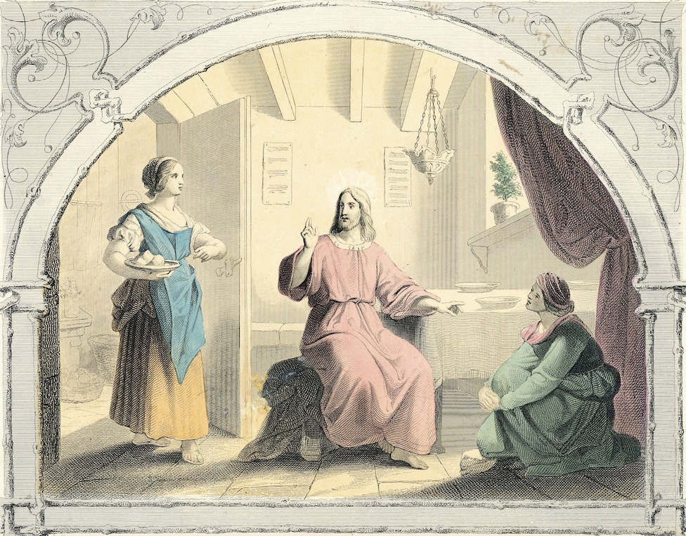 This is from Ginnie's collection of antique biblical prints. circa 1861