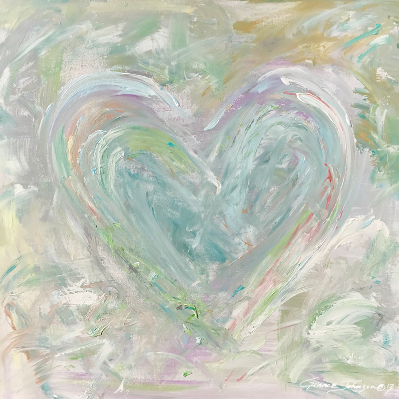 New Heart (pastel)