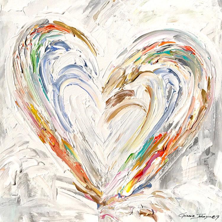 New Heart (white)
