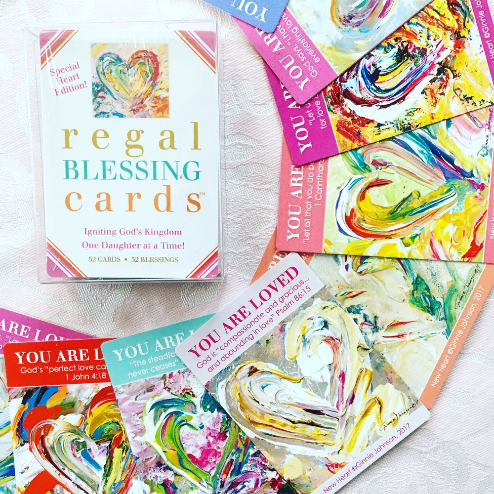REGAL BLESSING CARDS -