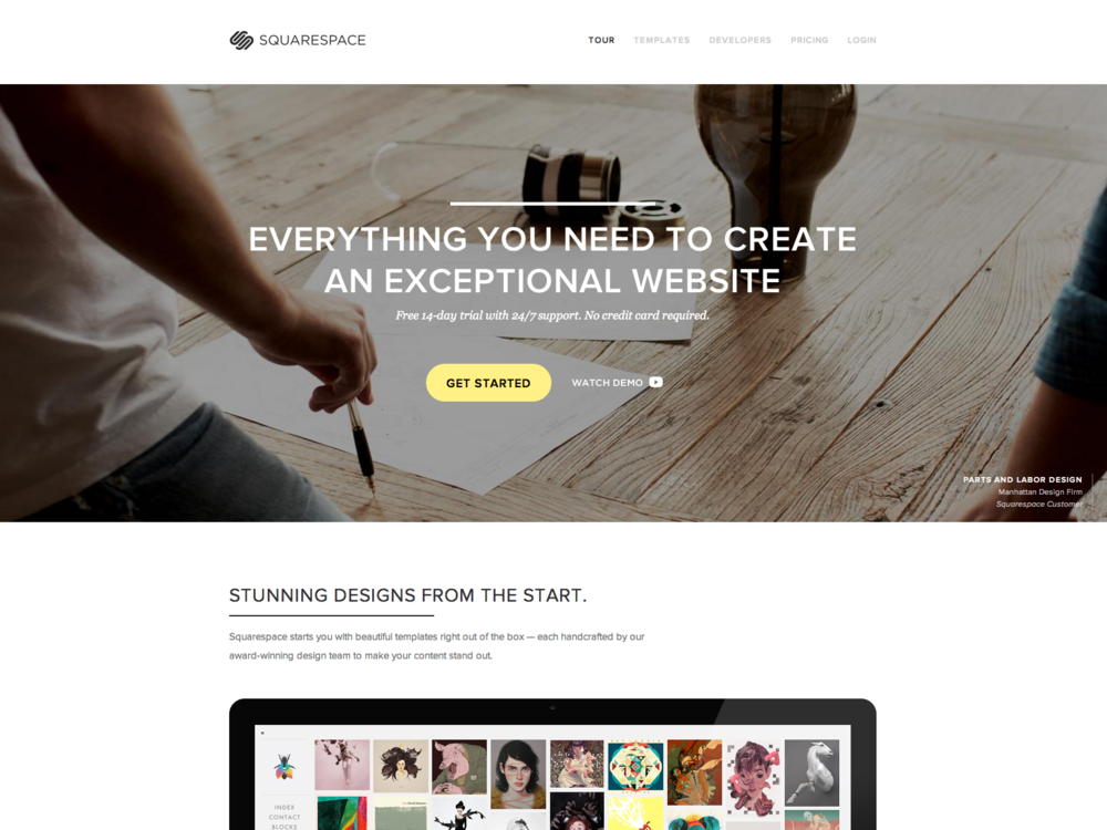 Squarespace uk reviews pupsprog for Best squarespace template for video
