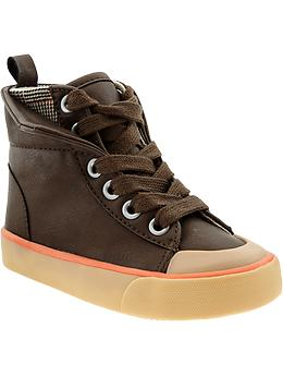 faux-leather-double-layer-sneakers-for-baby-dark-brown.jpg