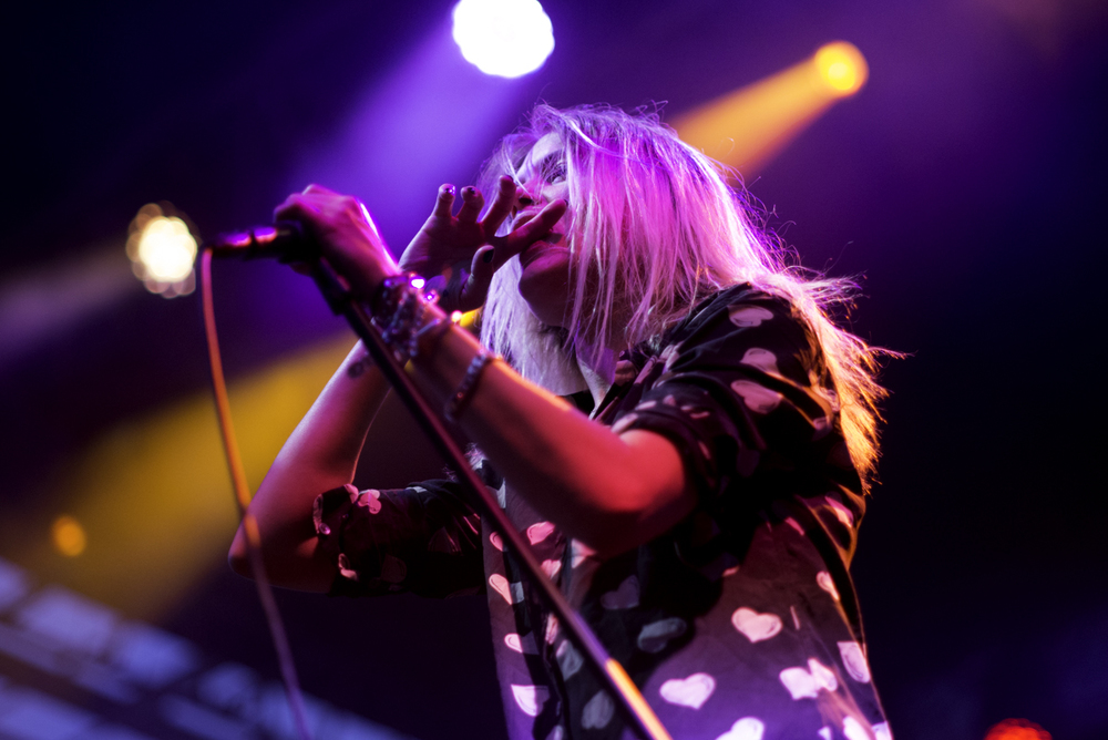 The Kills live performance at Twilight Concert Series Photography // Armand Sanchez @armandsanchez